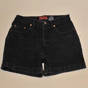 Gap womens shorts size 8 CUFF high waist -791-